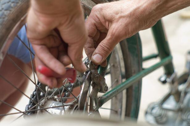 Będzie można za darmo naprawić rower Shutterstock
