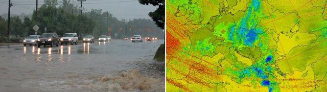 """Nawet 100 l/mkw. deszczu w niektórych częściach kraju. <br />""""Konsekwencje są jasne - podtopienia"""""""