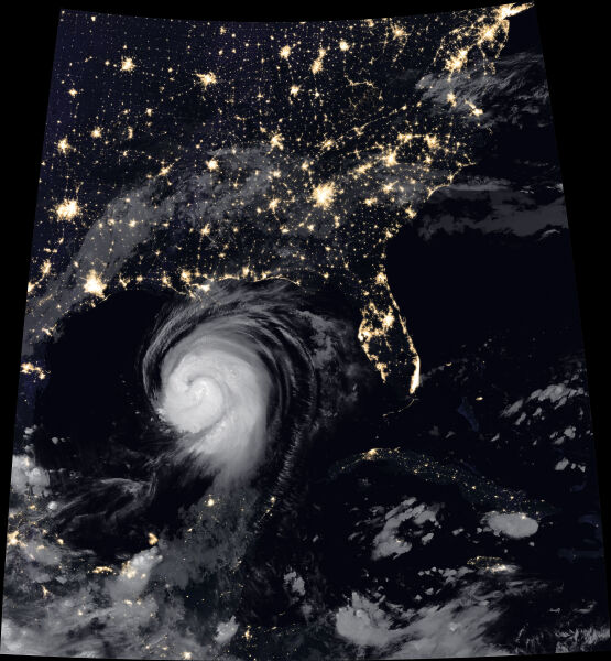 Huragan Laura w dniu 26.08.2020 (earthobservatory.nasa.gov)