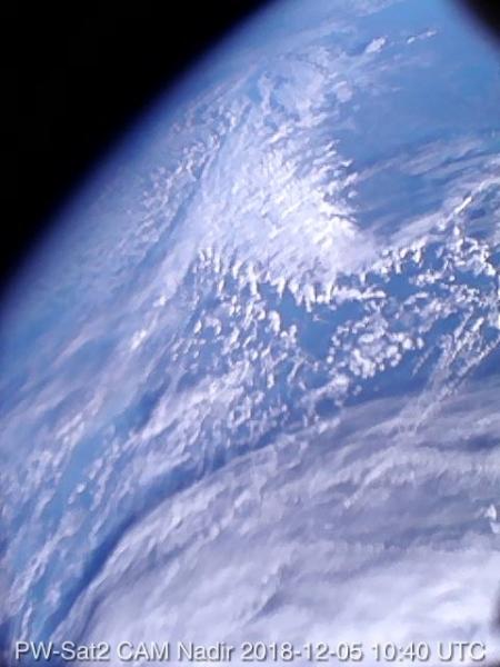 Pierwsze polskie zdjęcie satelitarne (PW-Sat2)