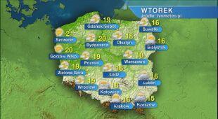 Prognoza pogody na wtorek 02.06